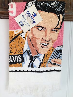 ELVIS PRESLEY Stamp Towel, Made in USA, NEW w/Tags!