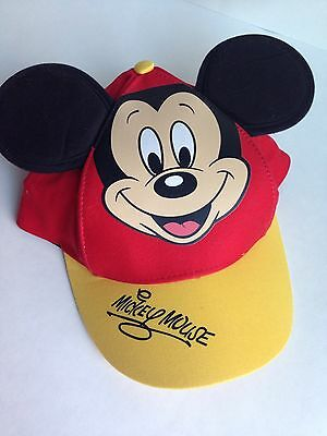 BRAND NEW! Mickey Mouse Disney World Authentic Cap Hat, Youth Size