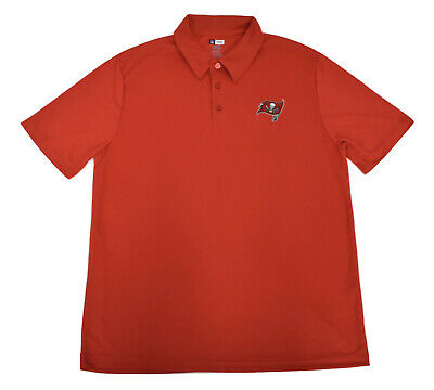 NFL Team Apparel Mens TX3 Cool Tampa Bay Buccaneers Polo Shirt New Pick Size b1d8634ee