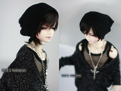 Cool Thread knitted Cap For BJD 1/6 1/4 1/3 SD17 Uncle Doll Accessories CPB1