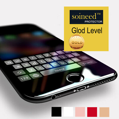 SOINEED 3D Curved Full Cover Tempered Glass Screen Protector for iPhone 6/S Plus