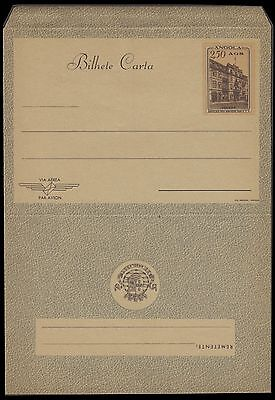 Angola Luanda Early Unused Bilhete Carta