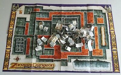 Dungeons and Dragons SOLO TABELLONE GIOCO 1991 TSR Editrice Giochi