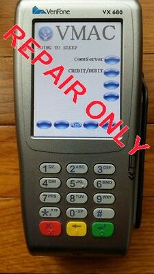REPAIR YOUR VERIFONE Vx570 (TAMPER and PassWord) - $34 56