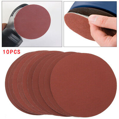 10X 150mm 2000 Grit Sanding Disks Hook Loop Wet Dry Sandpaper Abrasive Paper Hot