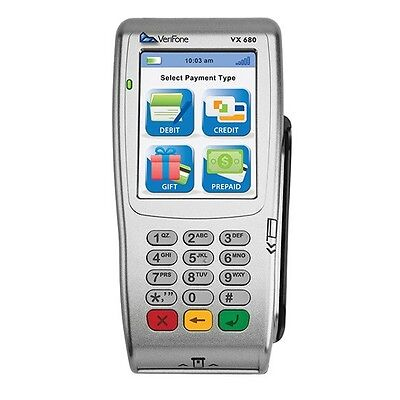 VeriFone Vx680/3G Wireless+EMV(Chip card)+NFC(contactless) *UNLOCKED* w/Warranty