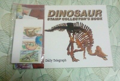 *Dinosaur Stamp Collector's Book & The Dinosaur Collection (Stamps Booklet)