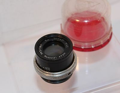 "TINY WRAY of LONDON , 3"" F4.5 ""SUPAR""  ENLARGER LENS    (51399)"