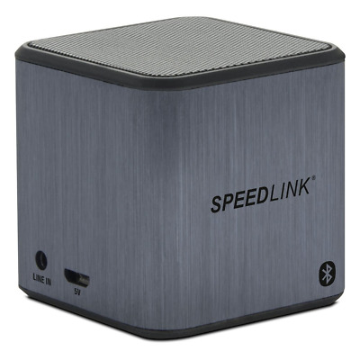 Speedlink 2 W Xilu RMS Bluetooth Mini Portable Wireless Speaker - Grey
