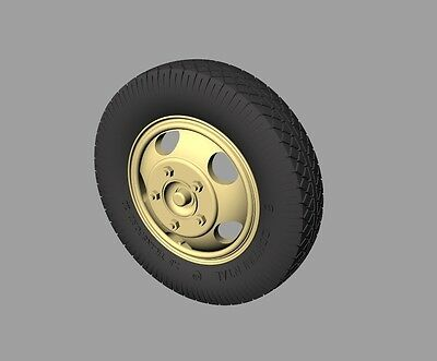 PANZER ART,1:35, RE35-333 Ford 3000 Road Wheels (Commercial pattern)