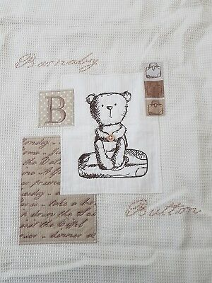 Mamas & Papas Barnaby Button Quilt to Suit Cot or Cot bed