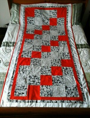 Dalmation Dog Material Patchwork Quilt Throw Sewing Craft Fabric Handmade Blanke