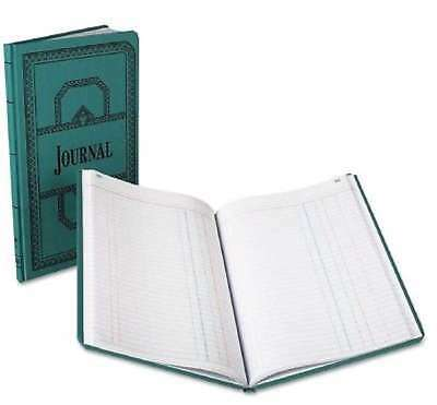 Boorum & Pease Record Account Book Journal Rule Blue 150 Pages 12 1/8 x 7 5/8