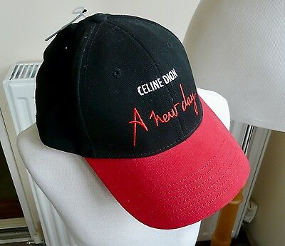 CELINE DION - A New Day Las Vegas Concert Hat Cap Adjustable *New With Tags*