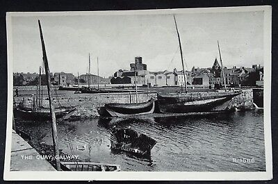 Old Postcard - The Quay, Galway, Ireland