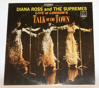 diana ross and the supremes live at londons talk of the town ms676 motown 1968
