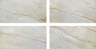 NEW Crema Valencia Gloss 300x600 Ceramic Tile Bathroom Kitchen Laundry Wall