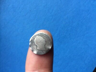 Silver threepence of King William IV 1836  poor bent
