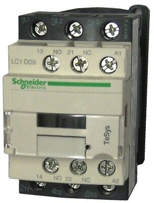 Schneider Electric TeSys Offer (LC1D09U7) 3 Pole Contactor ; 4kW ; 240V AC Coil