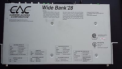 CAC Wide Bank 28 DS3 Access Multiplexer - Single Controller