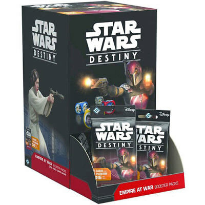 Star Wars Destiny Empire at War Booster Packs (Gravity Feed set of 36 packs) NEW