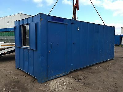 Site Office Storage Container 50 50 Anti Vandal Steel 21 x 8 (More Available)