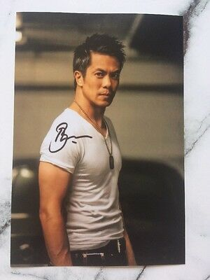 Byron Mann Pre Printed Photo