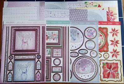 Hunkydory Luxury Paper Collection ~ FESTIVE SPLENDOUR (14 Sheets)