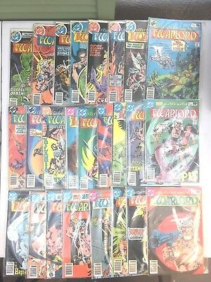 Warlord Dc Comics #17-41  Lot Of 25  Mike Grell Bronze Age Fine To Very Fine