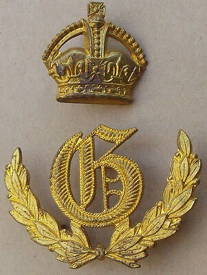 "GUNNERY Competition FIRST PRIZE ""G"" Wreath Sleeve-Worn Metal Badge Artillery"