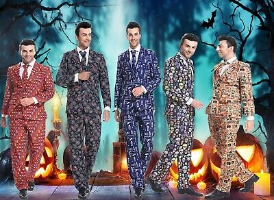 ADULT MENS Halloween Stag Do Fancy Dress Party Outfit Halloween Party Suit