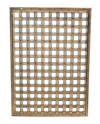 Cast Bronze Bunte Candy Factory Interior Lobby Wall-Mount Radiator Grille