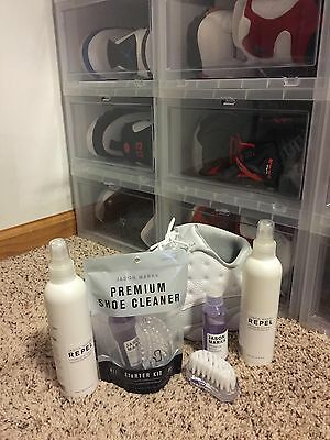 Jason Markk Premium Shoe Cleaner, repel, travel kit PLEASE READ!!
