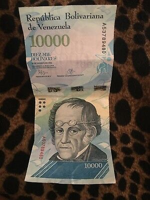 VENEZUELAN CURRENCY, $10,000 bolivares and 20,000 bolivares
