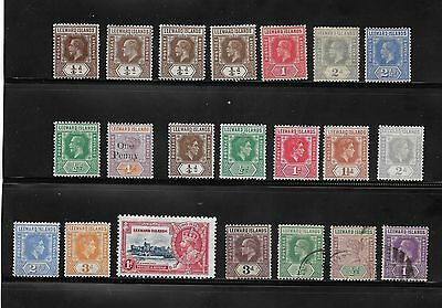 Collection Of Mostly Unused Leeward Islands Stamps Queen Victoria Onwards