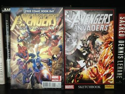 Avengers Age of Ultron 2012 Free Comic Book Day Issue plus Avengers Sketchbook