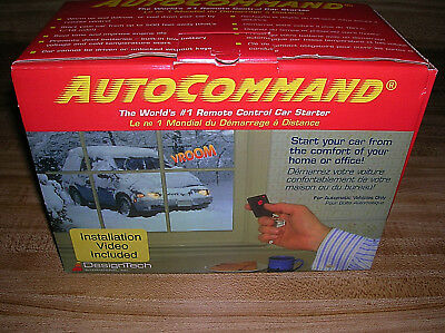 SEALED Auto Command AutoCommand Remote Control Car Starter 20033 USA MADE