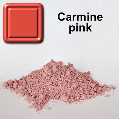 "us ""CARMINE PINK"" Ceramic Pigments Stains underglaze Earthenware Pottery baalcer"