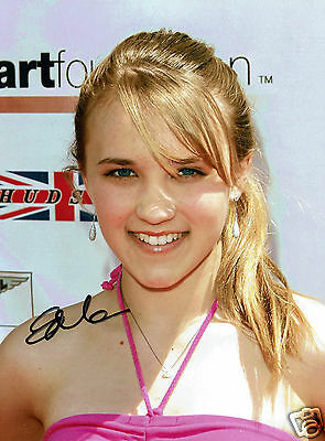 Emily Osment Actress and Singer Hand signed Photograph 7 x 5