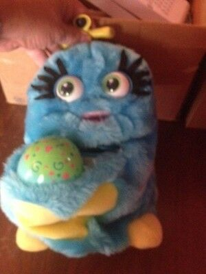 1999 Trendmaster Wuv Luvs Blue Mommy and Egg Interactive Doll Rare & Collectible