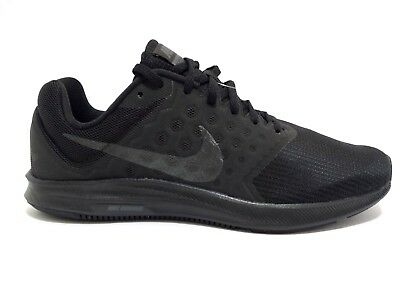 NIKE DOWNSHIFTER 7 852459 001 scarpe uomo running mesh Total Black
