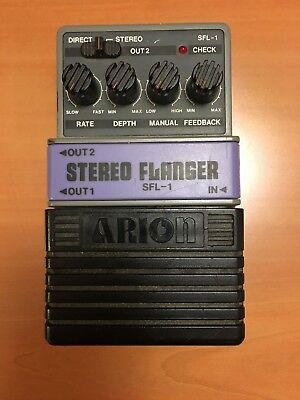 Arion Stereo Flanger Guitar effect - Very good Condition
