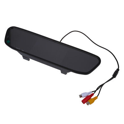 """4.3 """"TFT LCD Display Monitor rearview mirror rearview mirror AUTO CAR DVD Z9T6"""