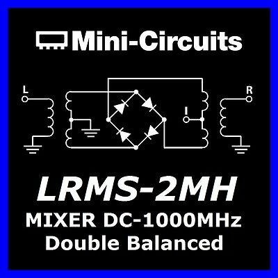 3 x  Mixer LRMS-2MH Double Frequency 13dB  IF DC-1000MHZ MiniCircuits