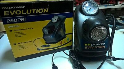 COMPRESOR NUPOWER 12 v-250 PSI