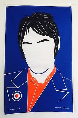 Paul Weller Tea Towel, Modfather, The Jam, Style Council - Dishcloth