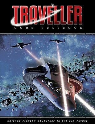 Traveller Roleplaying Game RPG  Rulebook - 2016 Edition - Mongoose Publications
