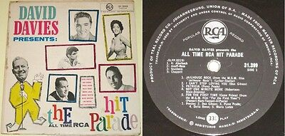 """Elvis ULTRA RARE """"David Davies Presents"""" SOUTH AFRICA only VV.AA. LP from 1959"""