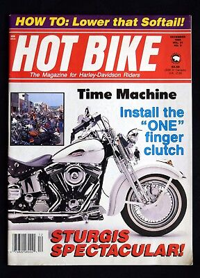 Hot Bike Magazine - December 1989
