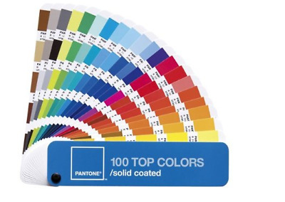 New & sealed PANTONE 100 Top Colors (Colours) Solid Coated ISBN: 9781590651193